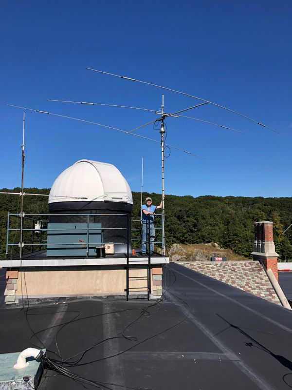 W1HLO Has a Beam and a Rotator Again!